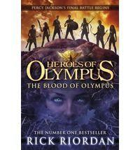 Riordan Rick: Blood of Olympus (Heroes of Olympus #5) cena od 194 Kč