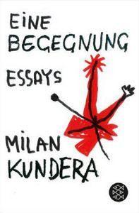 Kundera Milan: Eine Begegnung cena od 286 Kč