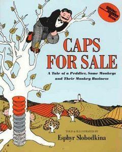 Slobodkina Esphyr: Caps for Sale cena od 179 Kč