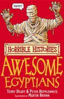 Deary Terry: Horrible Histories: Awesome Egyptians cena od 89 Kč
