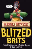 XXL obrazek Deary Terry: Horrible Histories: Blitzed Brits