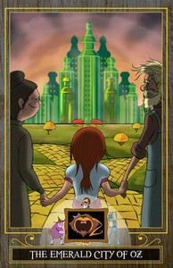 Baum Frank: The Emerald City of Oz (The Wizard of Oz Collection) cena od 70 Kč