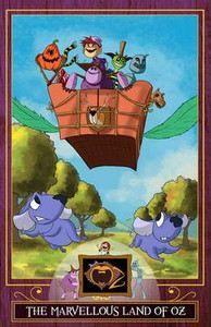 Baum Frank: The Marvellous Land of Oz (The Wizard of Oz Collection) cena od 89 Kč