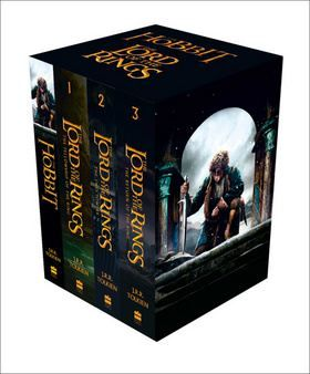 Tolkien J.R.R.: The Hobbit and The Lord of the Rings cena od 804 Kč