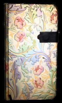 Zápisník s magnetickým klipem 85x160 mm duhové květiny cena od 107 Kč