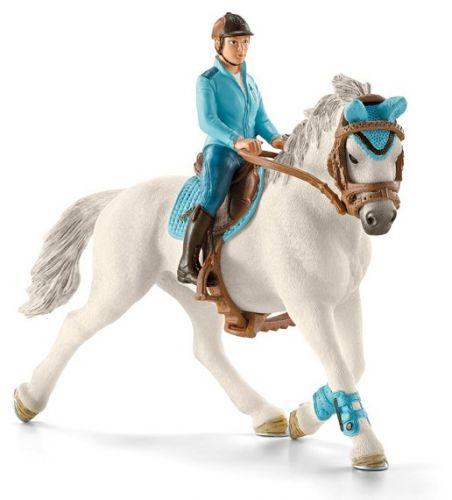 Schleich Žokej na koni