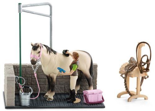 Schleich Mycí kout pro koně s příslušenstvím cena od 429 Kč