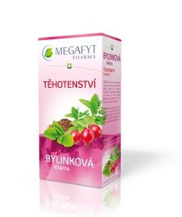 Megafyt Bylinková lékárna Těhotenství 20x1,5 g cena od 37 Kč