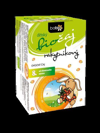 GOLDIM BABIO dětský biočaj rakytníkový 20x1,5 g