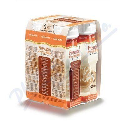 Fresubin energy fibre čokoláda 4x200 ml cena od 142 Kč