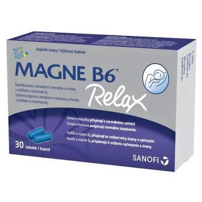 Magne B6 Relax 30 kapslí cena od 149 Kč