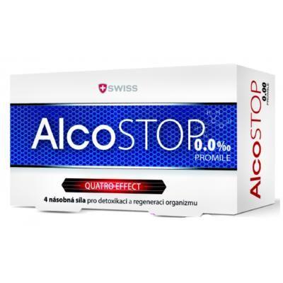 AlcoSTOP Swiss 20 tobolek cena od 219 Kč