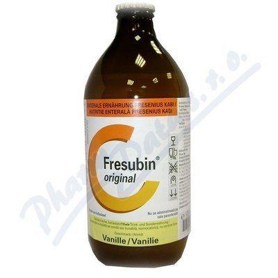 Fresubin Original s vanilkovou příchutí 500 ml cena od 720 Kč