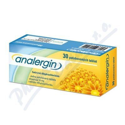 Analergin 10 mg 30 tablet cena od 72 Kč