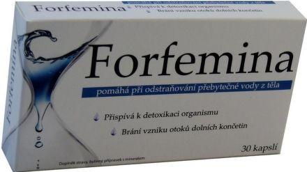 Forfemina přípravek na odvodnění těla 30 tablet cena od 149 Kč