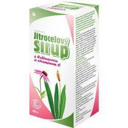 Herbacos Jitrocelový sirup Echinacea a vitamín C 320 g