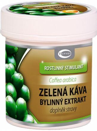 TOPVET Zelená káva bylinný extrakt 60 tobolek