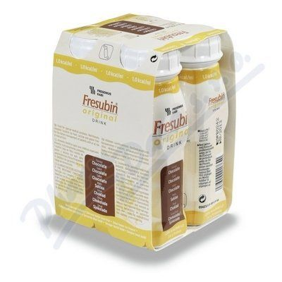 Fresubin original s čokoládovou příchutí 4x200 ml cena od 136 Kč