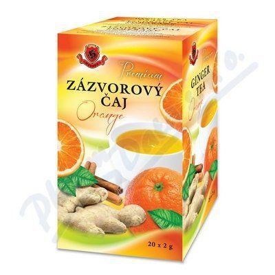 HERBEX Zázvorový čaj Orange 20x2 g