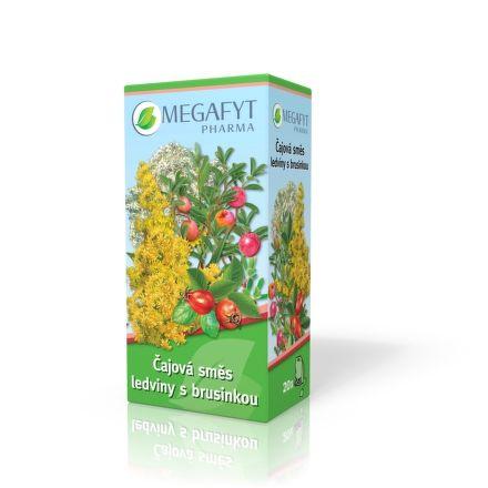 Megafyt Čajová směs ledviny s brusinkou 20x1,5 g cena od 37 Kč