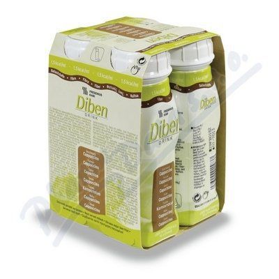 Diben drink cappuccino 4x200 ml cena od 197 Kč