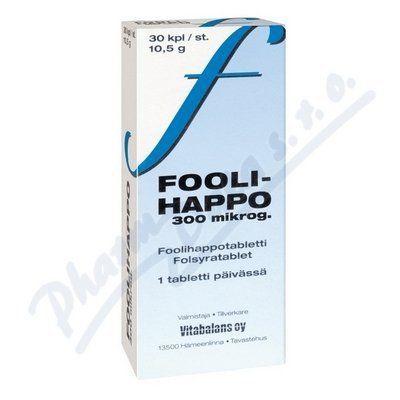 Vitabalans Folica 400ug s kyselinou listovou 30 tablet