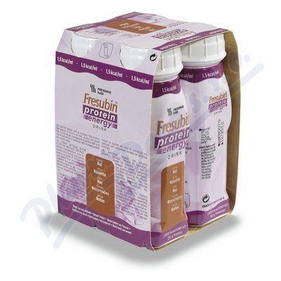 Fresubin protein energy oříšek 4x200 ml cena od 148 Kč