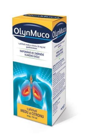 OlynMuco sirup Med a citron 20 mg 150 ml cena od 0 Kč
