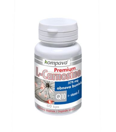 KOMPAVA Premium L-Carnosine 60 kapslí