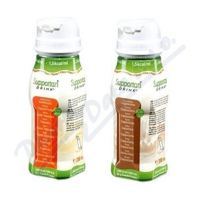 XXL obrazek Supportan Drink cappuccino 4x200 ml