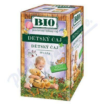 HERBEX Dr.Nebolíto BIO Dětský čaj 20x1,2 g