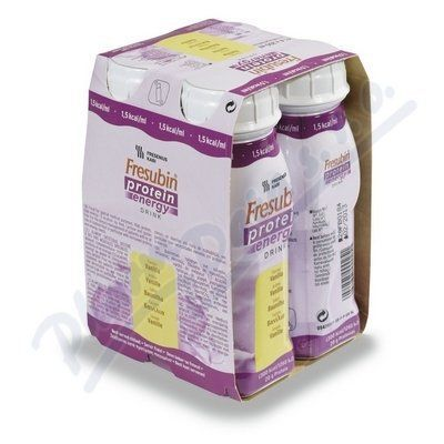 Fresubin protein energy vanilka 4x200 ml cena od 159 Kč