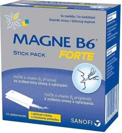 Magne B6 Forte Stick Pack 20 ks