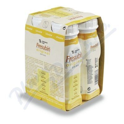 Fresubin original s vanilkovou příchutí 4x200 ml cena od 136 Kč