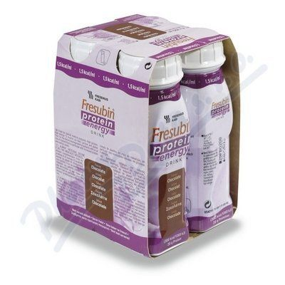 Fresubin protein energy čokoláda 4x200 ml cena od 159 Kč