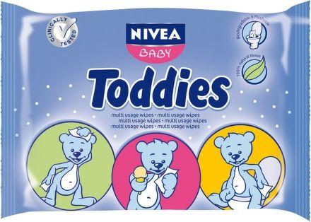 NIVEA Baby Multi ubrousky Toddies 60 ks