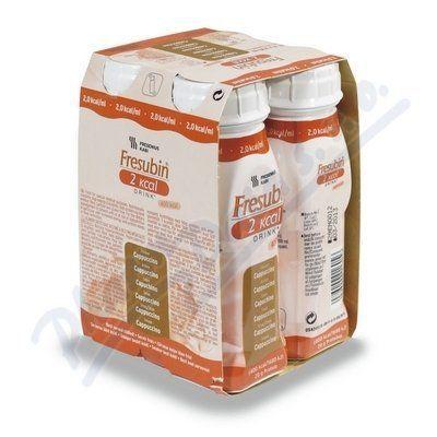Fresubin 2kcal drink cappuccino 4x200 ml cena od 187 Kč