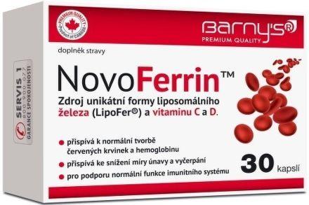 Barnys NovoFerrin 30 kapslí