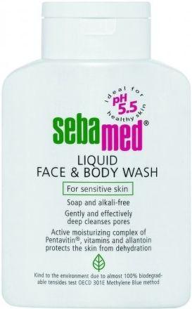SEBAPHARMA Sebamed Mycí emulze na obličej a tělo 200 ml