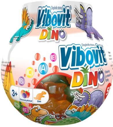 Teva Pharmaceuticals Vibovit DINO jelly 50