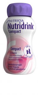 Nutridrink Compact Jahoda 4x125 ml cena od 188 Kč