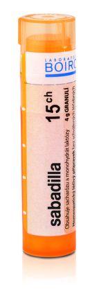 Sabadilla CH15 granule 4 g cena od 76 Kč