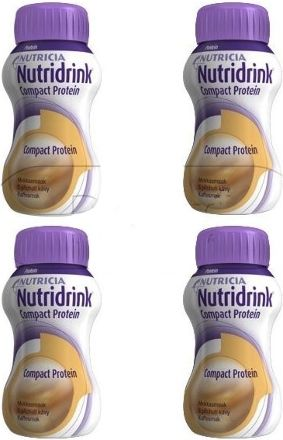 Nutridrink Compact Protein Káva 4x125 ml cena od 207 Kč