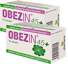 DANARE OBEZIN45+ duopack 180 tobolek