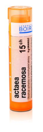 Actaea Racemosa CH15 granule 4 g cena od 76 Kč