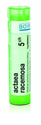 Actaea Racemosa CH5 granule 4 g cena od 76 Kč