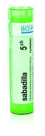 Sabadilla CH5 granule 4 g cena od 77 Kč
