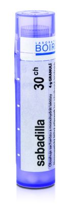 Sabadilla CH30 granule 4 g cena od 77 Kč