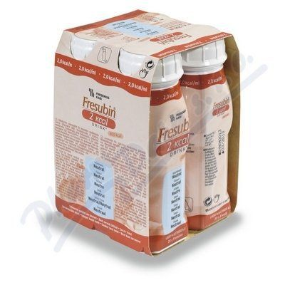 Fresubin 2kcal drink neutral 4x200 ml cena od 166 Kč