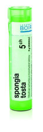 Spongia Tosta CH5 granule 4 g cena od 75 Kč